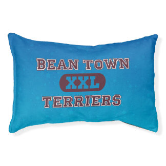 Humorous Terrier Sports Team Pet Bed