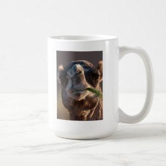 Hump Day Camel Feasting on Green Grass Coffee Mug