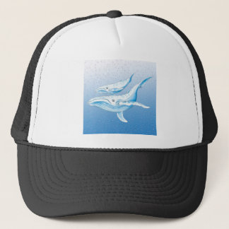 Humpback Family Trucker Hat