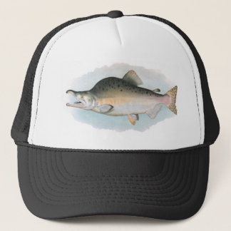 Humpback Salmon Fishing Hat