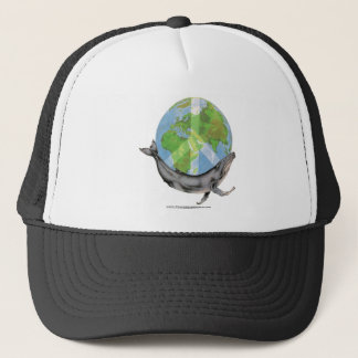 Humpback Whale Peace design. Trucker Hat