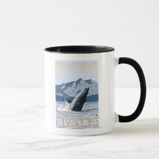 Humpback Whale - Skagway, Alaska Mug