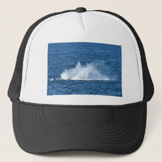 HUMPBACK WHALE SPLASH  QUEENSLAND AUSTRALIA TRUCKER HAT