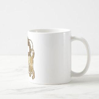 hund basic white mug