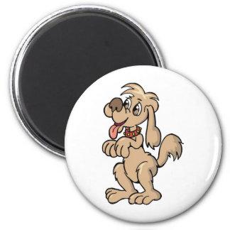 Hund, Mein bester Freund 6 Cm Round Magnet