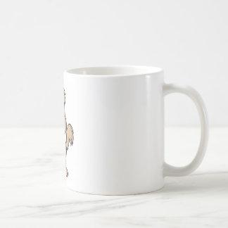 Hund, Mein bester Freund Basic White Mug