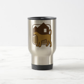 hund stainless steel travel mug