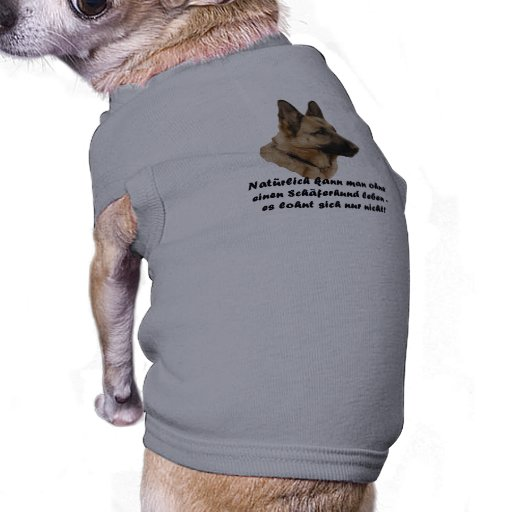 "Hunde-Shirt ""Schäferhund"" Pet Clothing"