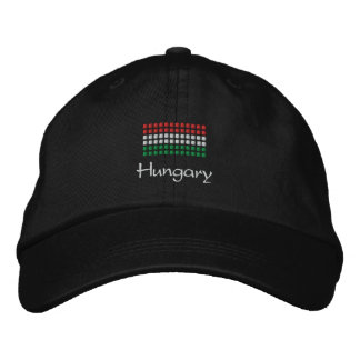 Hungarian Cap - Hungarian Flag Hat Embroidered Hats