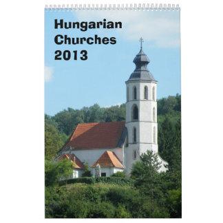 Hungarian churches Calendar 2013