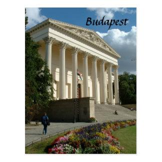 Hungarian National Museum Postcard