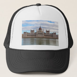 Hungarian Parliament Budapest by day Trucker Hat