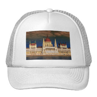 Hungarian Parliament Building in Budapest, Hungary Cap