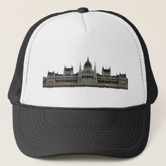 Hungarian Parliament in Budapest Trucker Hat