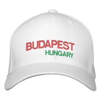 Hungary Budapest Custom Cap  Budapest Sapka Embroidered Baseball Cap