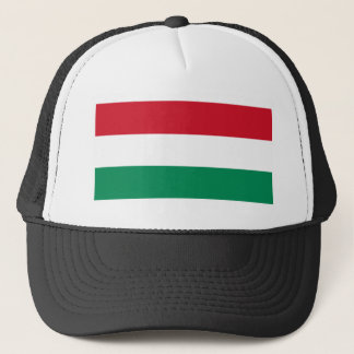 Hungary Flag HU Trucker Hat
