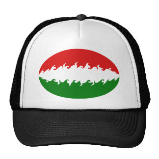 Hungary Gnarly Flag Hat