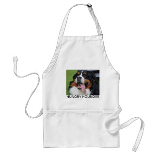 Hungry Bernese Mountain Dog Apron