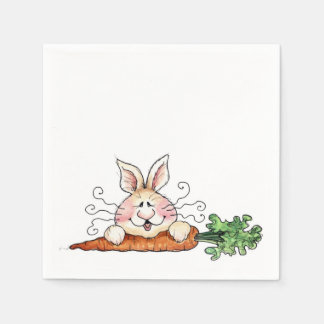 Hungry Bunny Disposable Serviettes