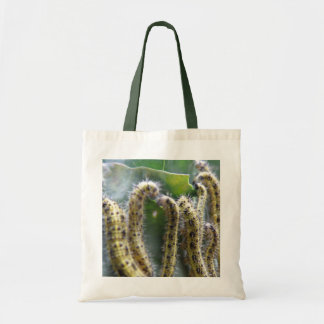 Hungry Cabbage White Caterpillars Tote Bag