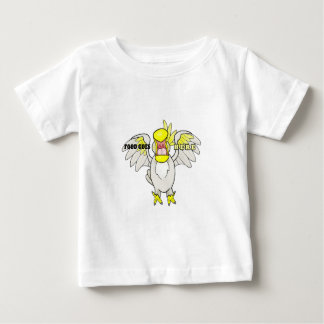 Hungry Cockatoo Baby T-Shirt