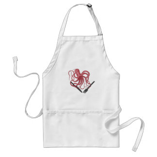 Hungry Kraken apron