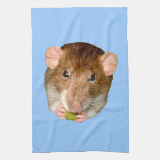 Hungry Rat Kitchen Towel