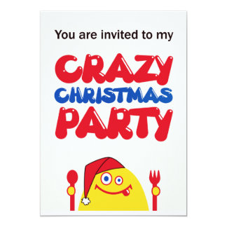 Hungry Yellow Creature Christmas Card