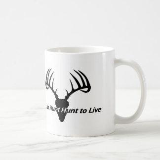 Hunt to Live Whitetail Mug