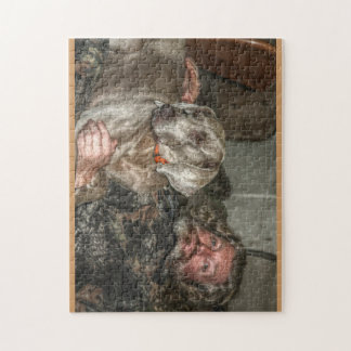 Hunter and Dog Jigsaw Puzzle