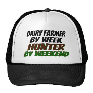 Hunter Dairy Farmer Mesh Hats