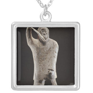 Hunter, from Cape Dorset Silver Plated Necklace