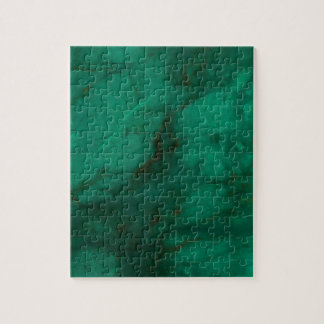Hunter Green Marble Jigsaw Puzzle