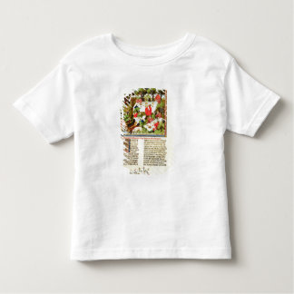 Hunters feasting before the stag hunt toddler T-Shirt