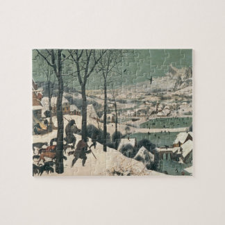 Hunters in the Snow - January, 1565 Jigsaw Puzzle