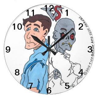 Hunters vs Zombies clock