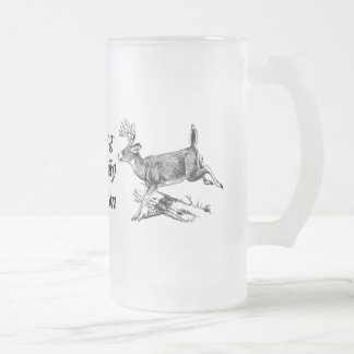 Hunting A Family Tradition Frosted Glass Mug
