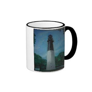 Hunting Island Lighthouse Ringer Mug