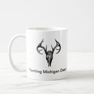 Hunting Michigan Deer Basic White Mug