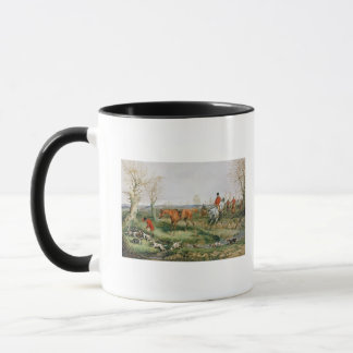 Hunting Scene Mug