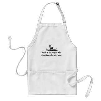 Hunting T-shirts and Gifts. Standard Apron