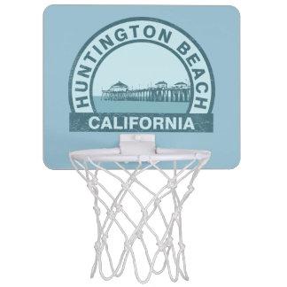 Huntington Beach, California Mini Basketball Hoop