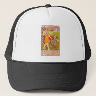 Huntress and Dogs Trucker Hat