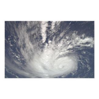 Hurricane Bertha Photographic Print