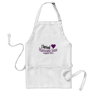 Hurricane Irene Survivor Apron