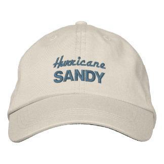 HURRICANE SANDY cap Embroidered Cap