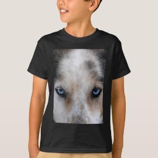 Husky blue eyes T-shirt