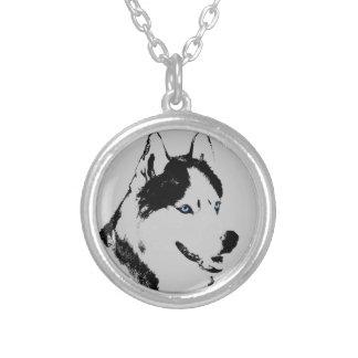 Husky Dog Necklace Siberian Husky Malamute Jewelry