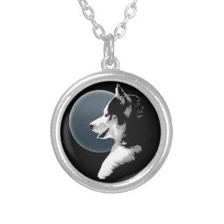 Husky Dog Necklace Siberian Husky Pup Necklace