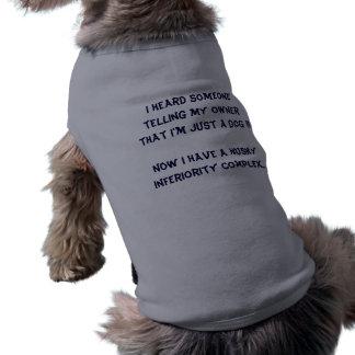 Husky Inferiority Complex Sleeveless Dog Shirt